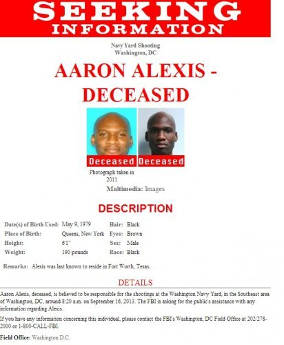 Navy Yard Shooting Fbi Video Shows Gunman Aaron Alexis: Aaron Alexis Entered Navy Yard With A Shotgun · TheJournal.ie
