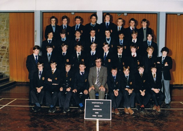 Chesterfield Boys School 1980