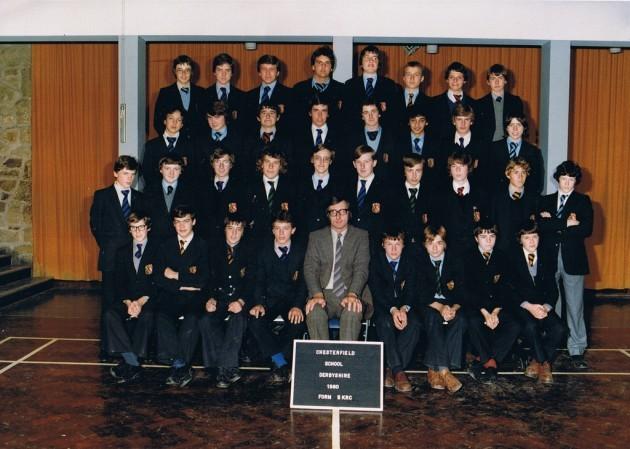 Chesterfield Boys School 1980