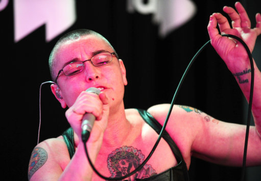 Sinead O'Connor at Absolute Radio - London