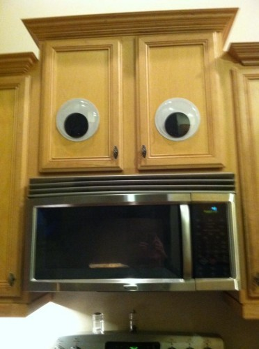 Bought these googly eyes not thinking I'd ever use them - Imgur