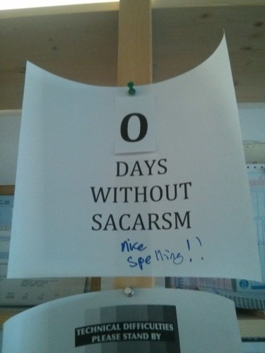 Funny Sarcastic Memes About Work : Delicious examples of sarcasm in the workplace ·