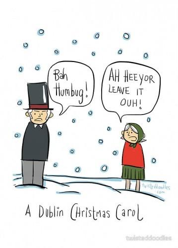 16 brilliantly irish alternative christmas cards the daily edge this dublin christmas carol m4hsunfo