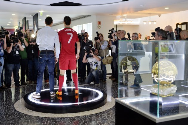 Ronaldo Opens His Own Museum Leaves Space For A Second Ballon DOr