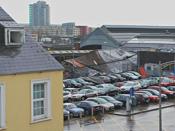 image & Cork train station reopens after roof collapse · TheJournal.ie