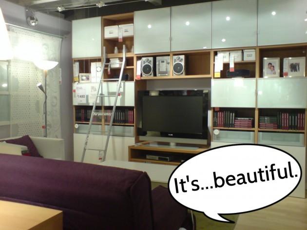 ikea showroom