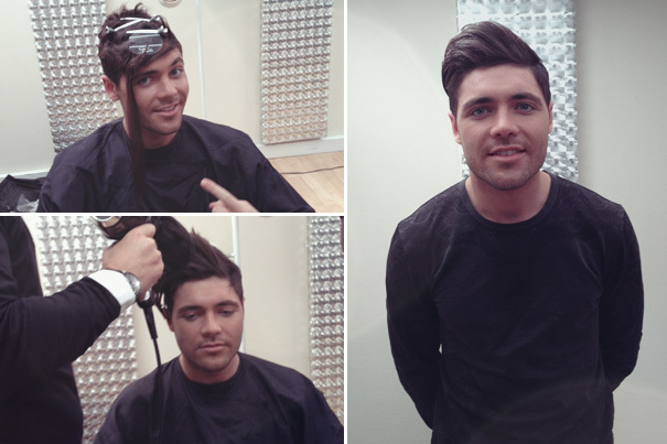 Male 'men-hancing' hair extensions were out in force at ...