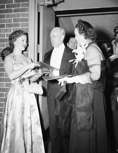 Truman Inaugural Temple 1949