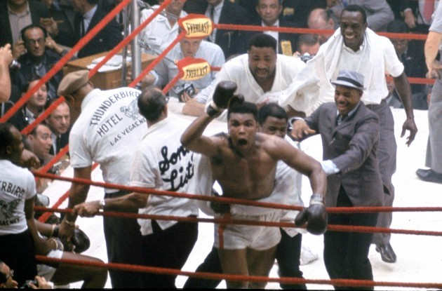 ALI LISTON FIGHT 1964
