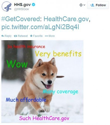 An official arm of the us government is tweeting doge memes solutioingenieria Choice Image