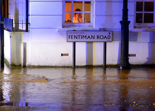 Kennington flooding