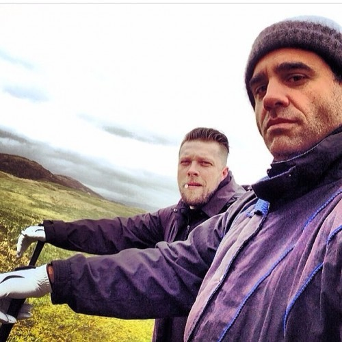 Golfing with @bobby_cannavale #regram #ireland #cantbelievehowbeautifulthisplaceis