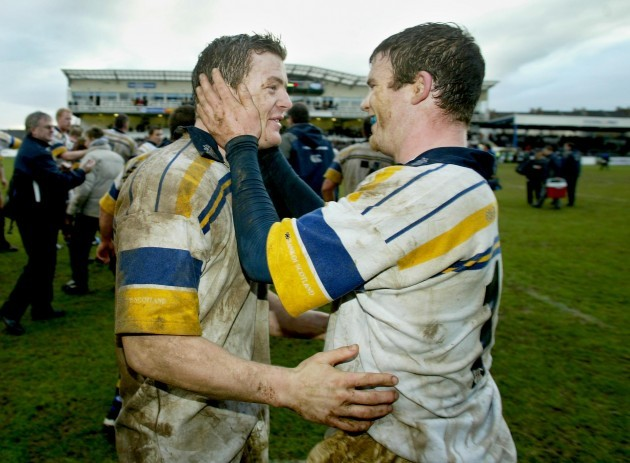 Brian O'Driscoll and Gordon D'Arcy