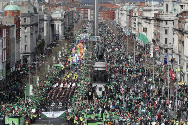 st s day parade dublin ireland live live the st s day parades in dublin and cork