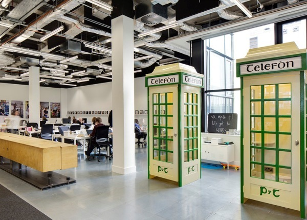 Airbnbs swanky Dublin offices designed to look like Irish pub