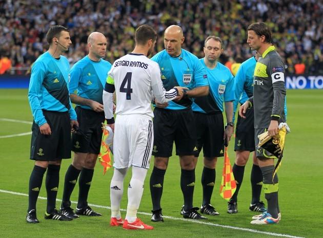 Soccer - UEFA Champions League - Semi Final - Second Leg - Real Madrid v Borussia Dortmund - Santiago Bernabeu