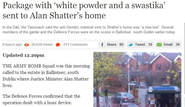 2 hoax shatter house