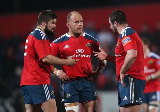 Duncan Casey, BJ Botha and James Cronin