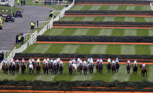 Horse Racing - The Crabbie's Grand National 2014 - Grand National Day - Aintree Racecourse