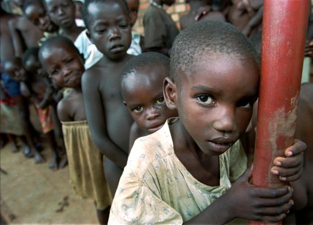 RWANDA CAMP LIFE