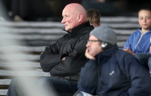 Brian Cody looks on