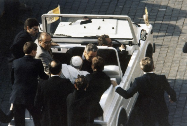 Vatican Shooting Of Pope John Paul II