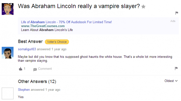 Does yahoo answers own copywritie to everything i say or respond to here?