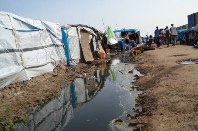 The UN has admitted that the camp is at imminent risk of becoming a death trap. South Sudan 2014 © Aurelie Baumel MSF
