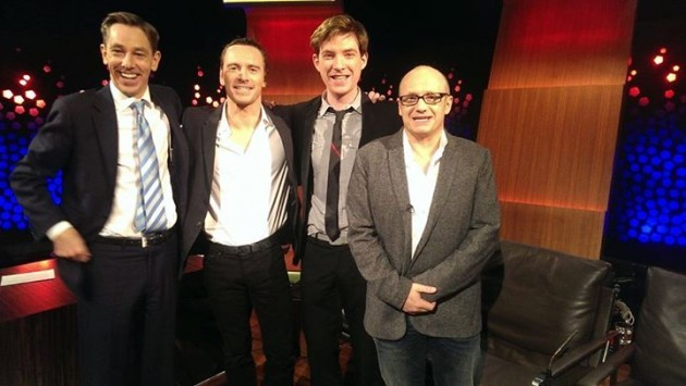 Tubridy. Fassbender. Gleeson. Abrahamson. (And ...