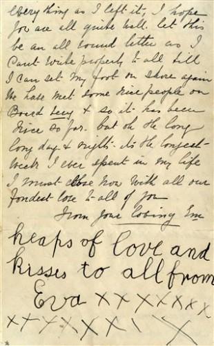 Britain Titanic Letter