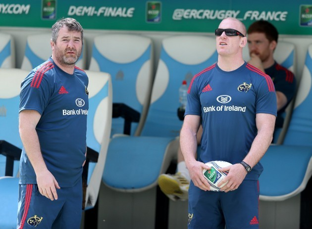 Anthony Foley and Paul O'Connell