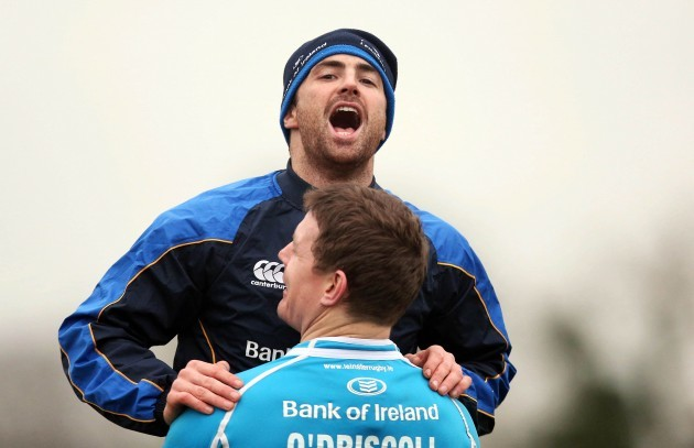 Brian O'Driscoll and Rob Kearney 7/1/2013