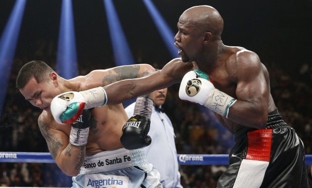 Mayweather Maidana Boxing
