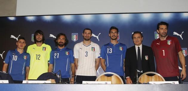 Italy New Shirts