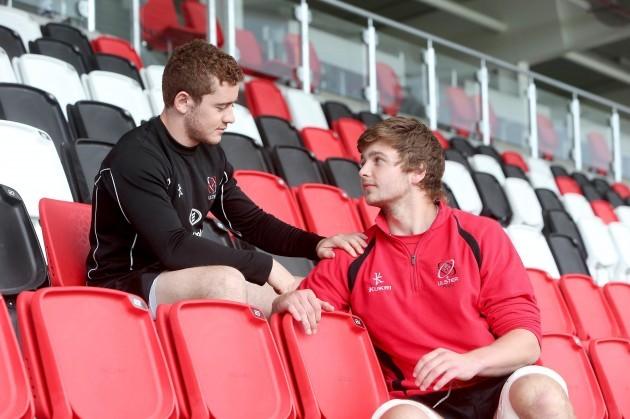 Paddy Jackson and Iain Henderson 13/5/2014