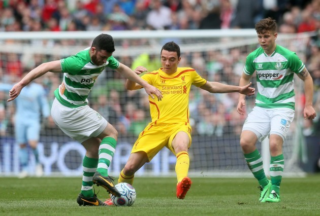 Soccer - Friendly - Shamrock Rovers v Liverpool - Aviva Stadium