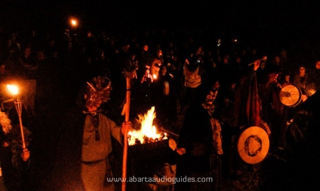 Pic 4 Samhain festival of fire at Tlachtga (Neil Jackman)