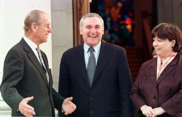 Prince Philip British Royal Visits to Ireland