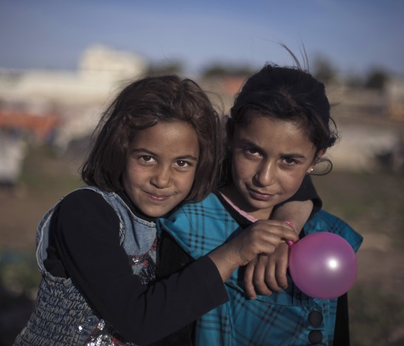 APTOPIC Mideast Jordan Refugee Children Photo Essay