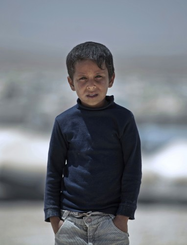 Mideast Jordan Refugee Children Photo Essay