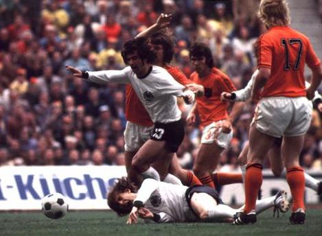 SOCCER WORLD CUP 1974 FINAL - Germany v Holland (Netherlands)