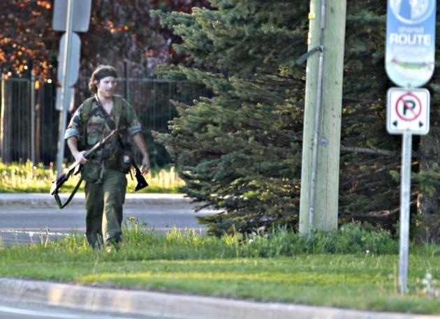 APTOPIX Canada Shooting