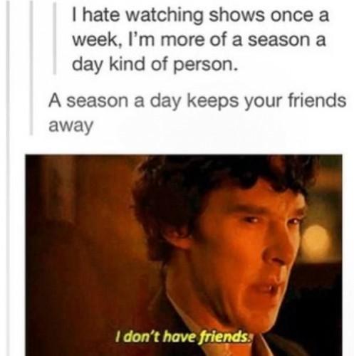 Netflix is my friend - Imgur