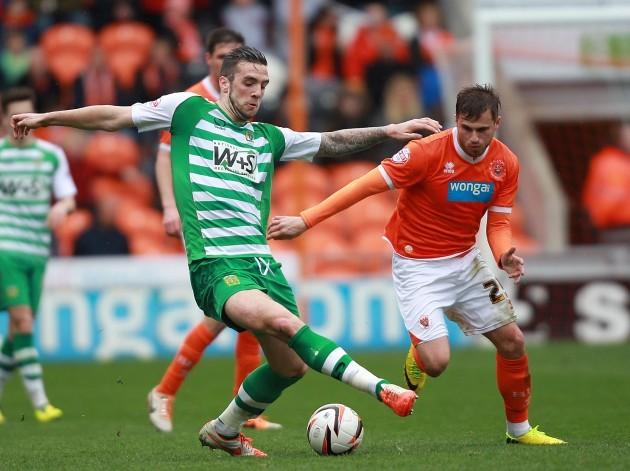 Soccer - Sky Bet Championship - Blackpool v Yeovil Town - Bloomfield Road