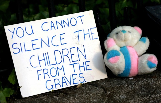 Justice for the Tuam Babies march. A s