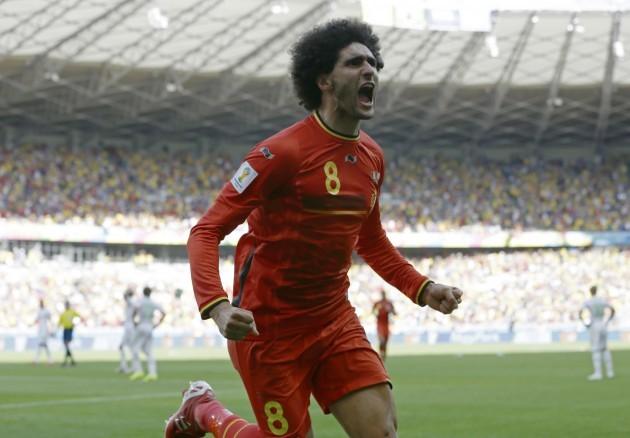 Brazil Soccer WCup Belgium Algeria