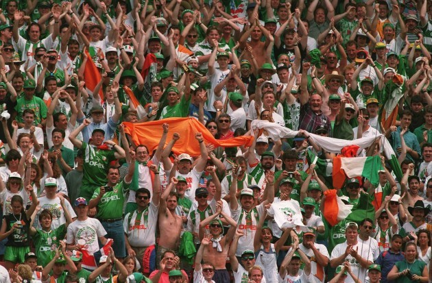 Soccer - USA World Cup 1994 - Ireland v Italy