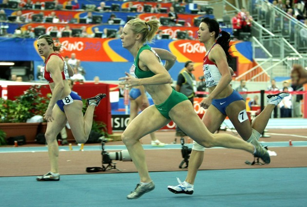 Derval O'Rourke finishes 3rd