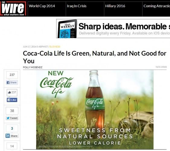 wire coke