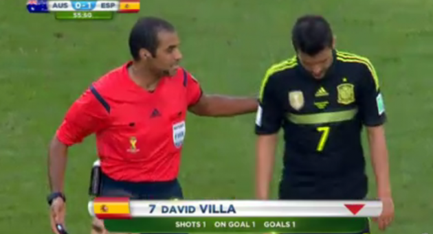 David Villa goodbye